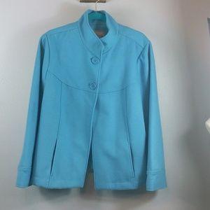Chicos blue jacket size 3 (XL)